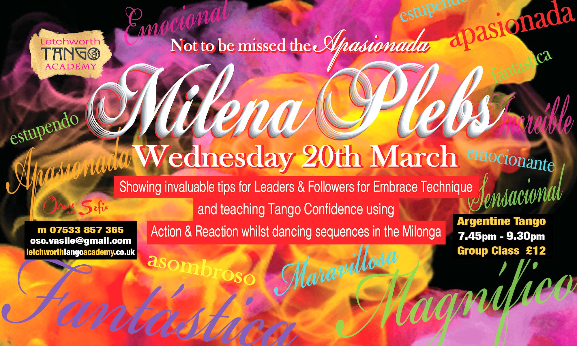 Special Class with Milena Plebs @ Jackmans Community Centre