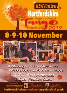 Hertfordshire International Tango Festival @ Onslow St Audrey's School