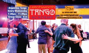 Tango Classes & Practica in Letchworth 2021 @ Jackmans Community Centre